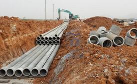 广利河设施维纶管改造工程